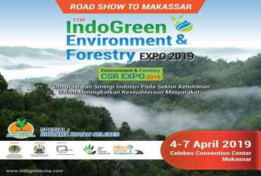 11th IndoGreen Environment & Forestry Expo 2019