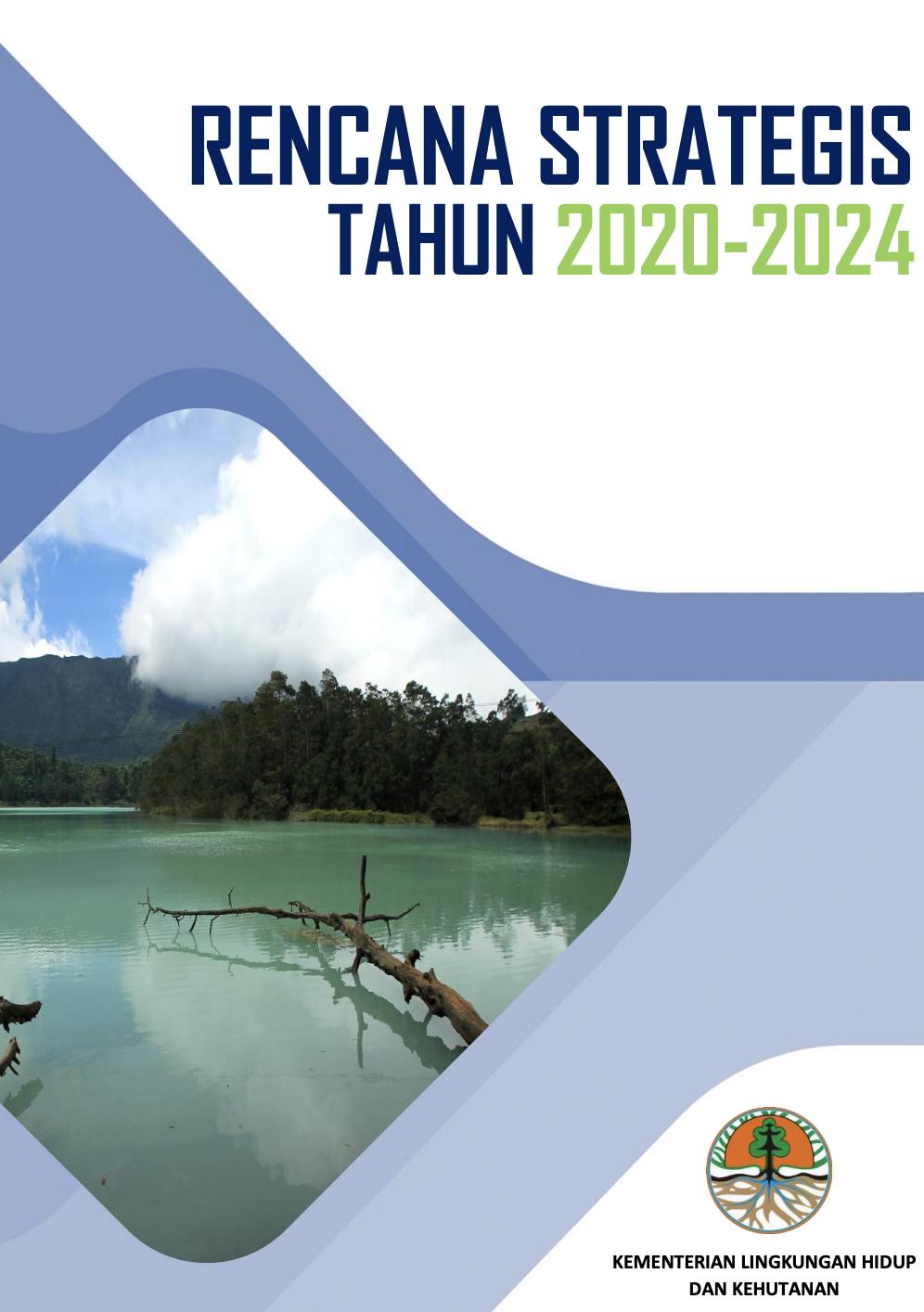 RENSTRA KLHK TAHUN 2020-2024