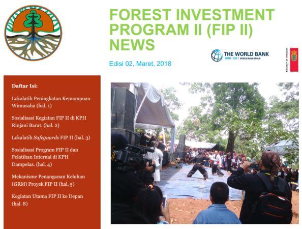 Forest Investment Program II (FIP II) NEWS