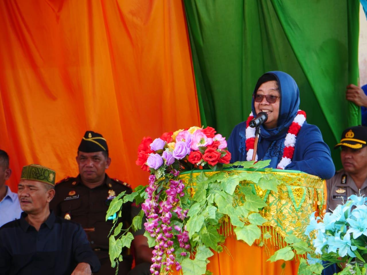 Kunjungi Aceh Singkil, Menteri LHK Dengar Langsung Aspirasi Masyarakat