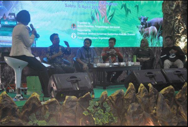 Tampilkan Iptek Mikrohidro di Talkshow IEFE 2019, BLI KLHK Ajak Semua Pihak Jaga Hutan
