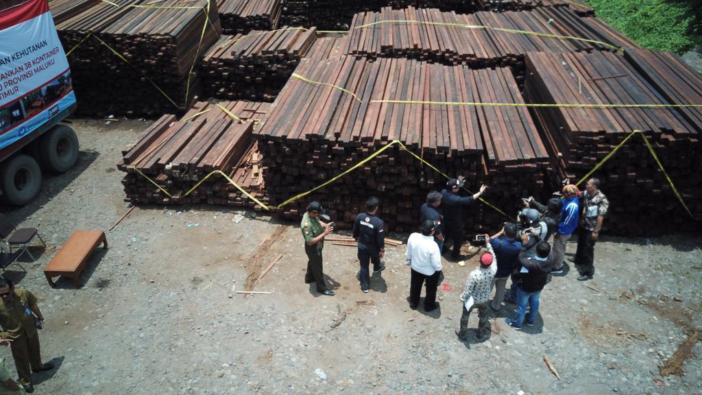 Kasus Kayu Ilegal Asal Papua Barat Siap Disidang