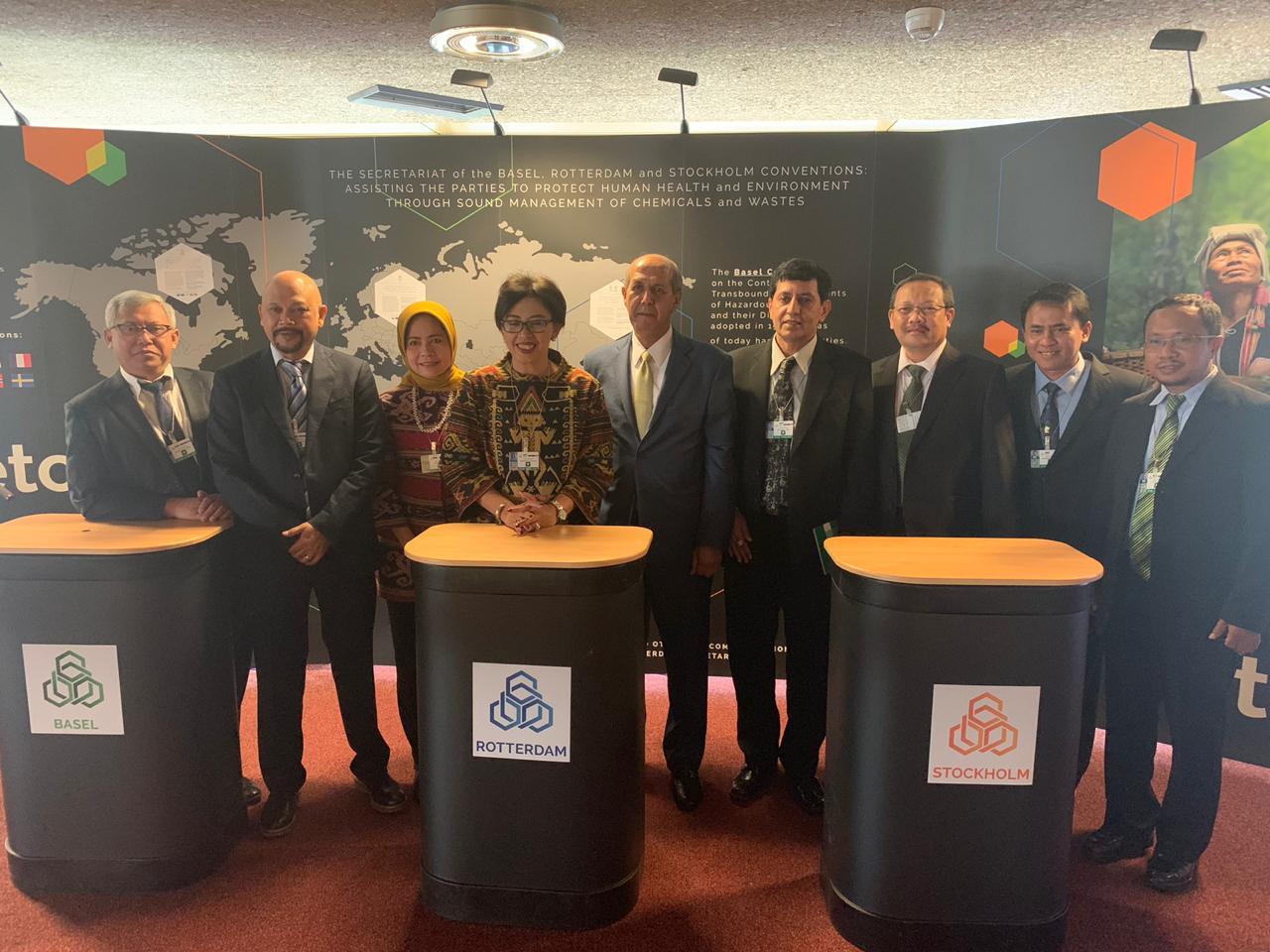 Delegasi RI Berperan Aktif dalam Konferensi Para Pihak (COP) Konvensi Basel, Rotterdam dan Stockholm