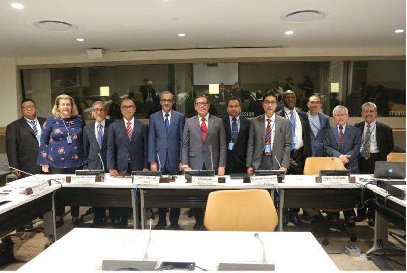 Indonesia Tekankan Pentingnya Pembenahan Tata Kelola Lahan Gambut dan Hutan Mangrove di Forum PBB