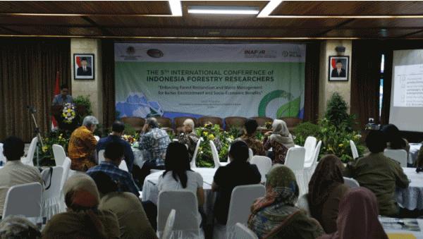 Konferensi Internasional Peneliti Kehutanan Indonesia (INAFOR) V - 2019 Resmi Diluncurkan