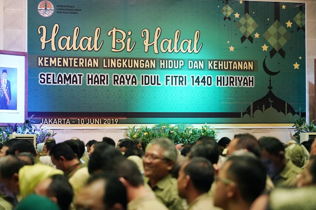 Halal Bihalal Lingkup Kementerian LHK