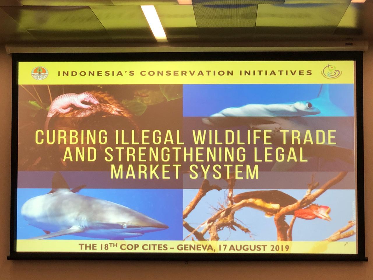 Konservasi Tumbuhan dan Satwa Liar Pada COP CITES Ke-18