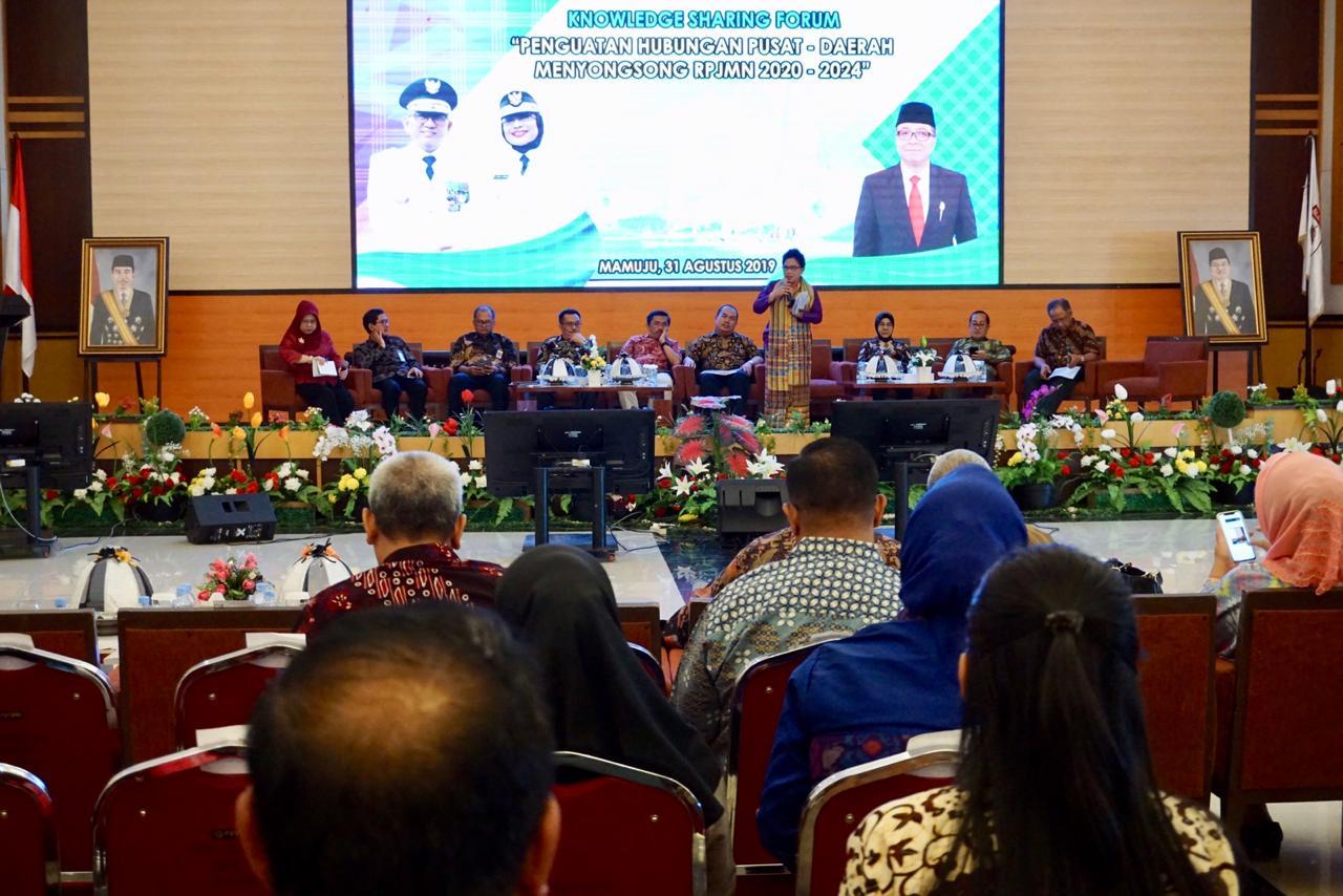 Penguatan Hubungan Pusat – Daerah Menyongsong RPJMN 2020-2024