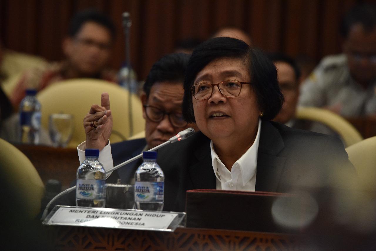 Menteri LHK dan Komisi IV DPR RI Bahas Rencana Kerja dan Anggaran Tahun 2020