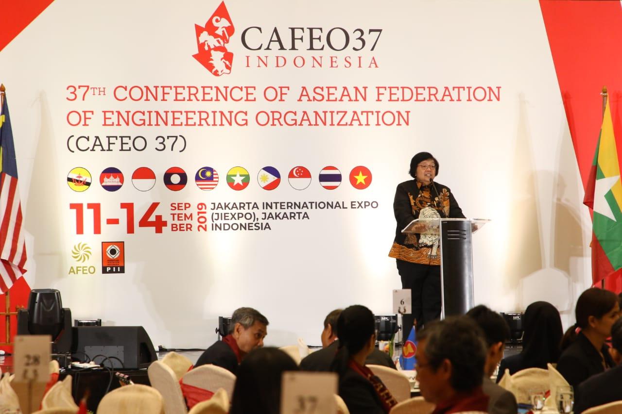 Menteri LHK Ajak Para Insinyur ASEAN Wujudkan Tujuan Pembangunan Berkelanjutan