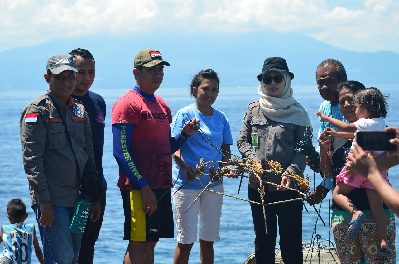 Metode MARRS  Upaya Pemulihan Ekosistem Terumbu Karang di TN Bunaken