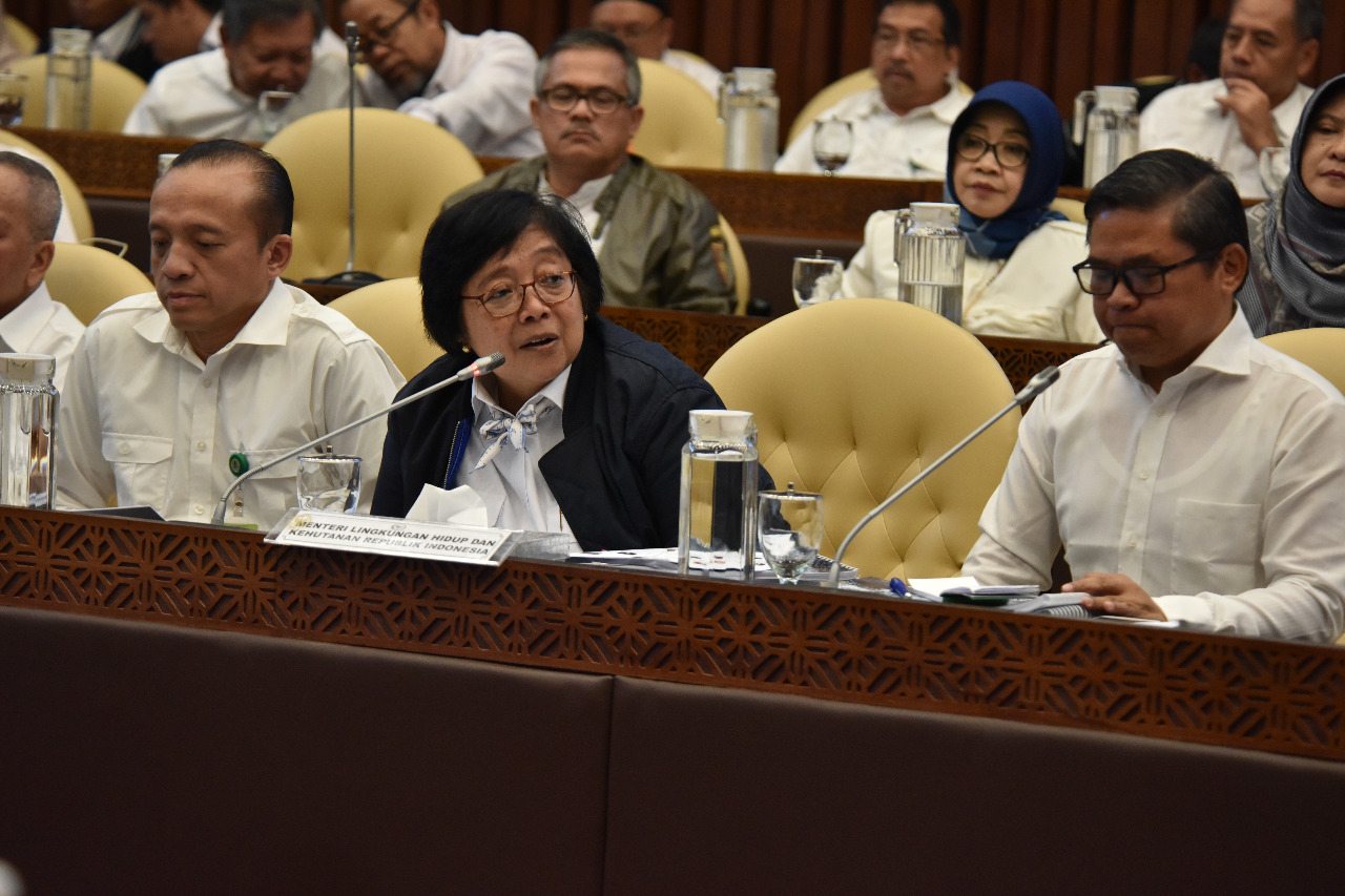 Menteri LHK Paparkan Agenda Pembangunan LHK 2020-2024 pada Komisi IV