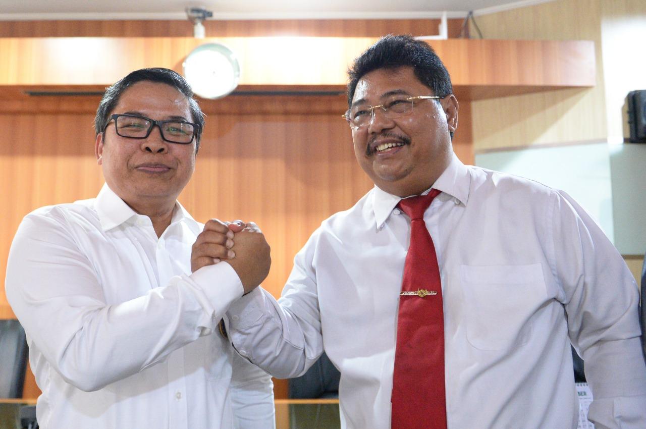 Wamen Alue Dohong Terima Kunjungan Komite Danau Toba