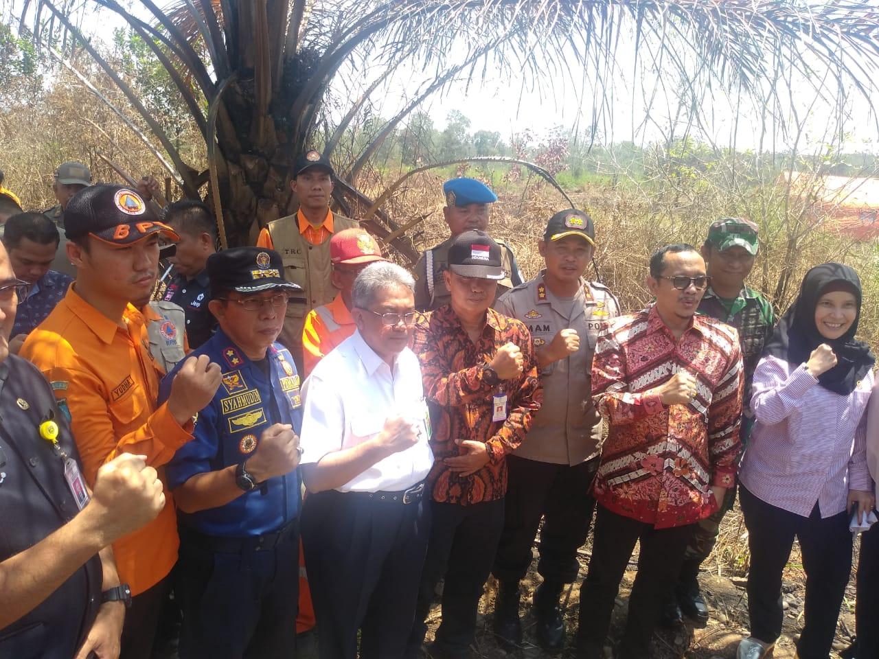 KLHK dan Komisi IV DPR RI Tinjau Lokasi Lahan Bekas Karhutla di Provinsi Sumatera Selatan