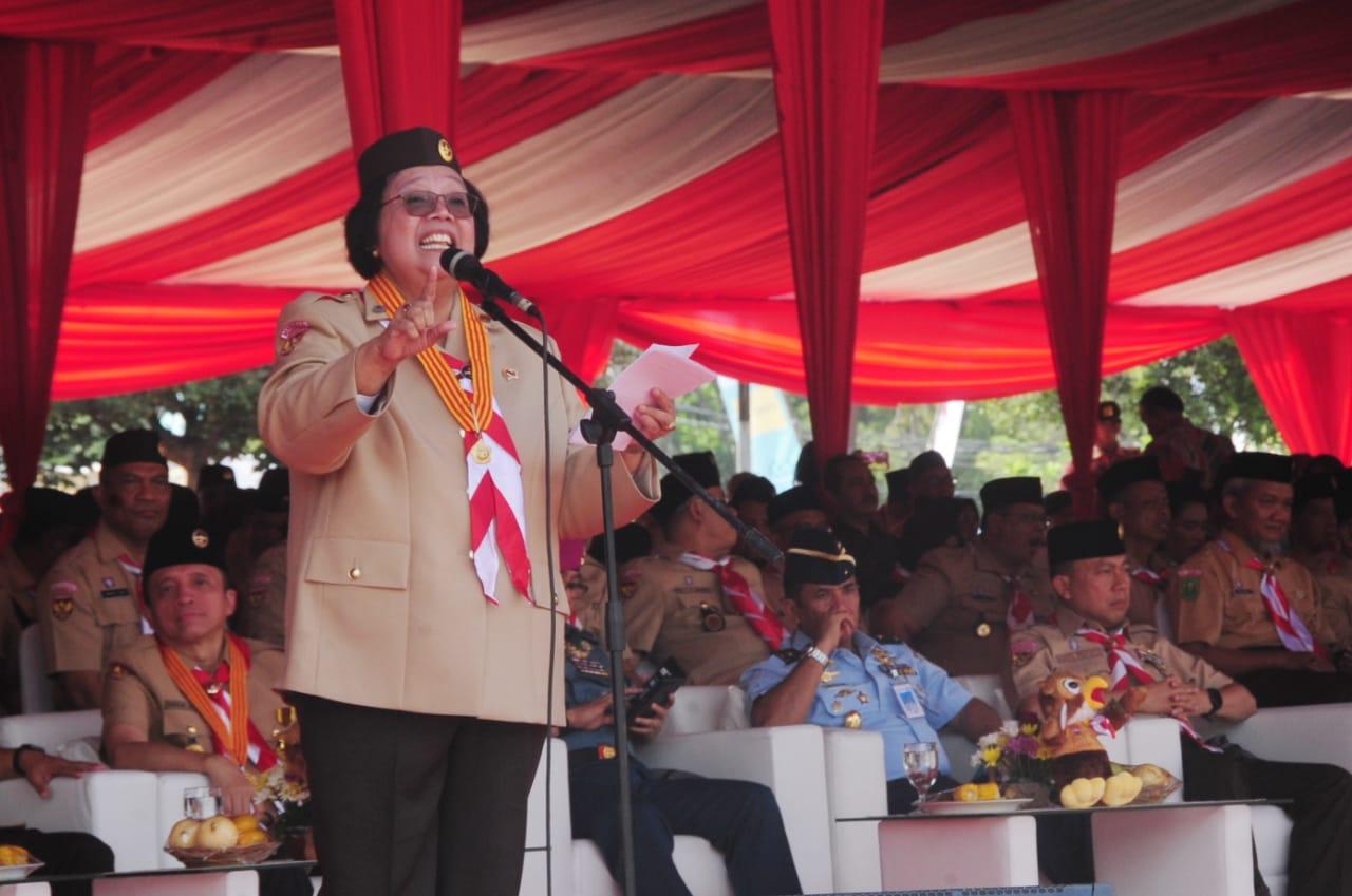 Menteri LHK Harap Anggota Pramuka Menjadi Penggerak Perbaikan Lingkungan