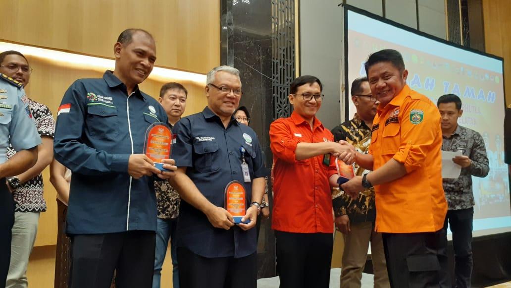 Manggala Agni KLHK Mendapatkan Apresiasi dari Gubernur Sumatera Selatan