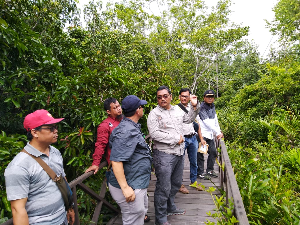 Pembangunan Habituasi Bekantan TWA Pulau Bakut