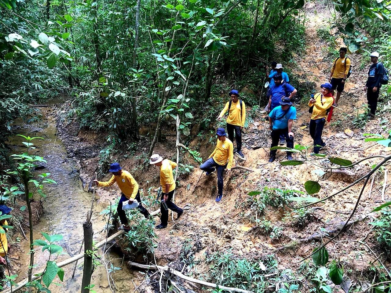 TGI Jungle Track di SM Bukit Rimbang Bukit Baling