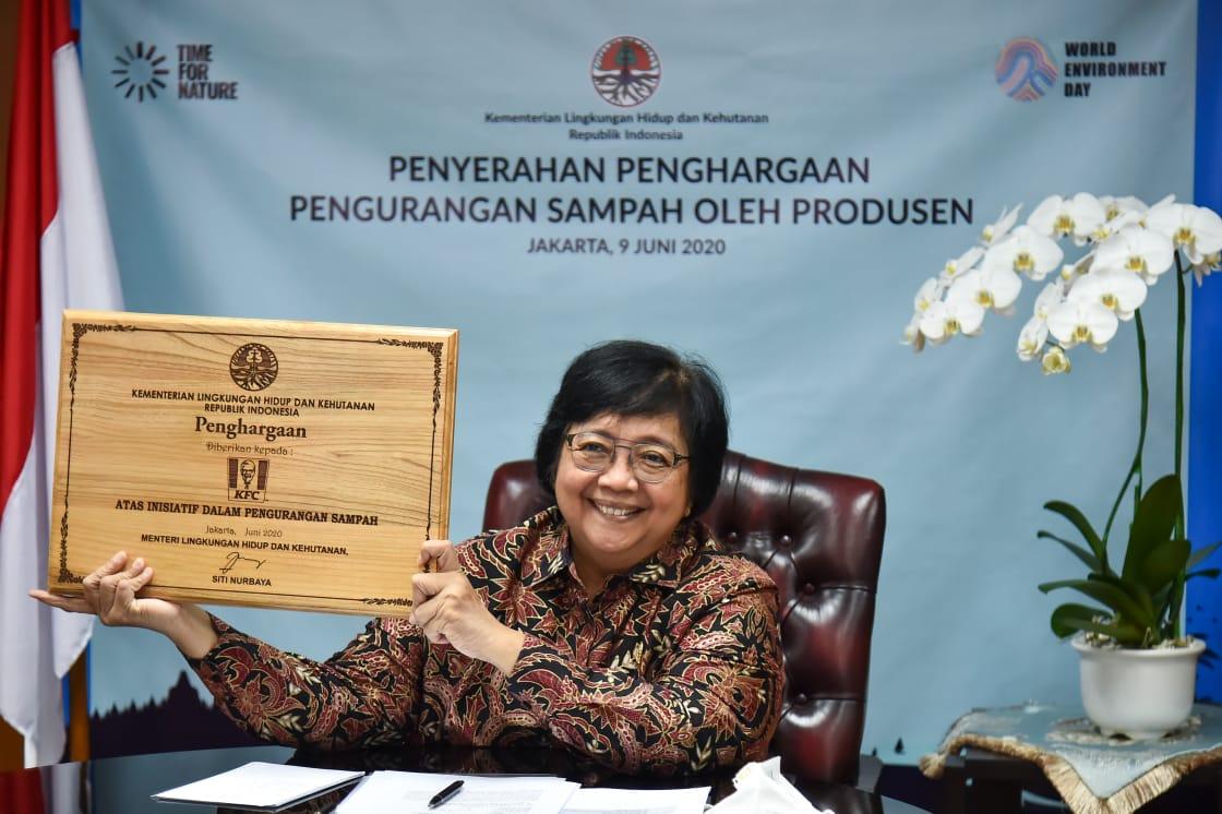 Menteri LHK: Penghargaan untuk Bisnis yang Kurangi Sampah