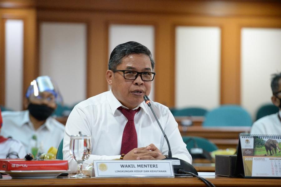 FGD KLHK Jaring Masukan Pengembangan Food Estate dari Perspektif Legislatif