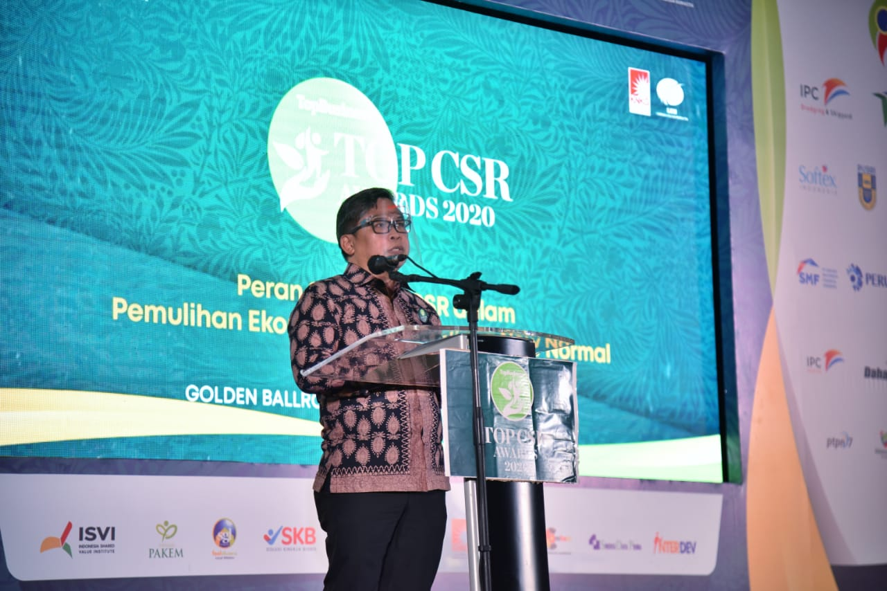 Wamen LHK Harapkan Komitmen dan Inovasi CSR untuk Bantu Masyarakat saat Pandemi