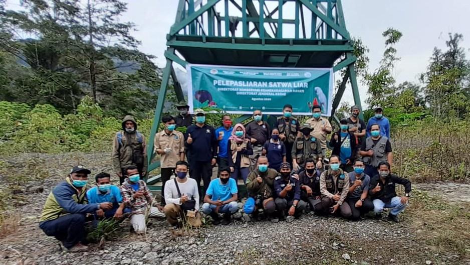 Pelepasliaran 90 Ekor Satwa Endemik Kepulauan Maluku