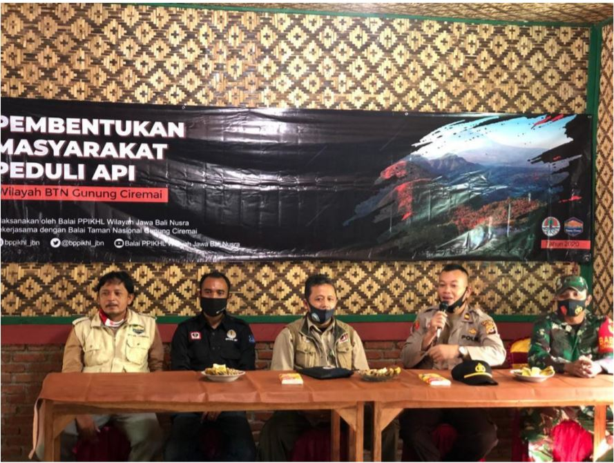 Membangun Jejaring Pengendalian Karhutla di TN Gunung Ciremai melalui Pembentukan MPA