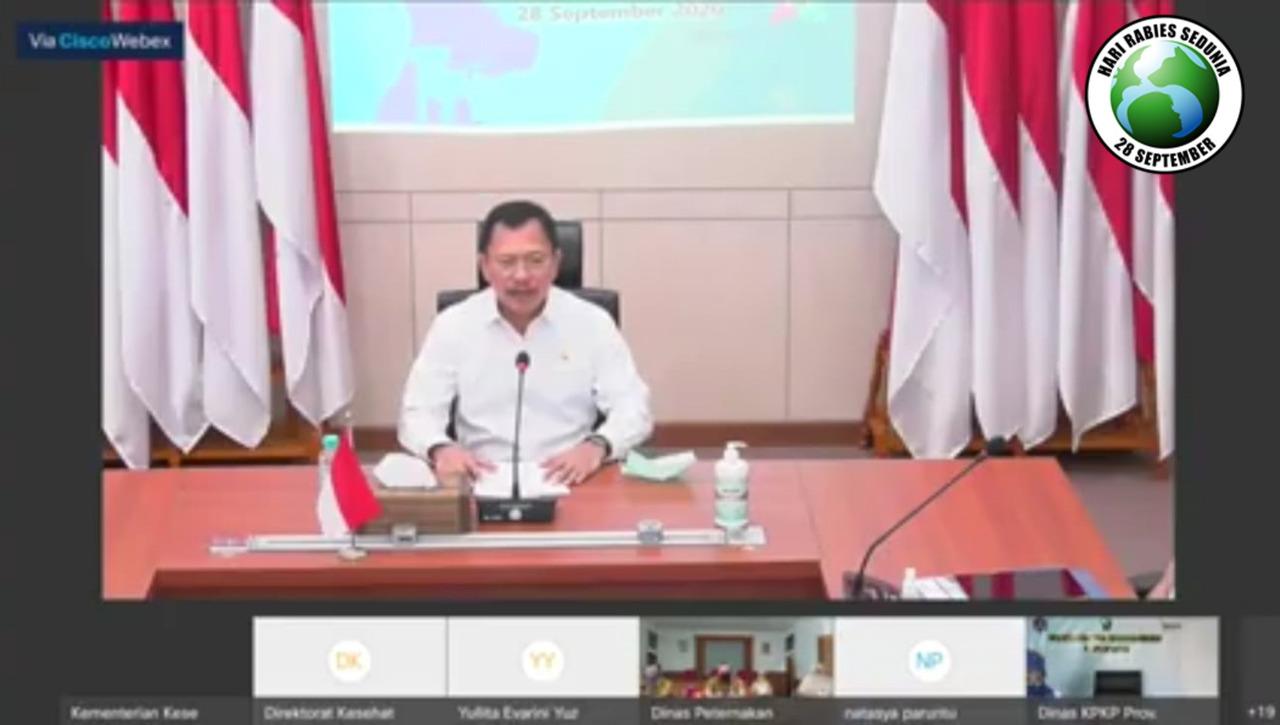 Peringati Hari Rabies Sedunia, Indonesia Targetkan Bebas Rabies 2030