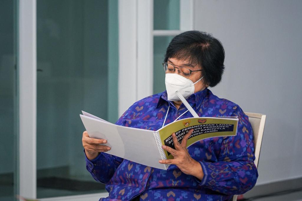 Menteri LHK Ingatkan Pemda: Regulasi Pemetaan Harus Mengacu Pada Standar Nasional