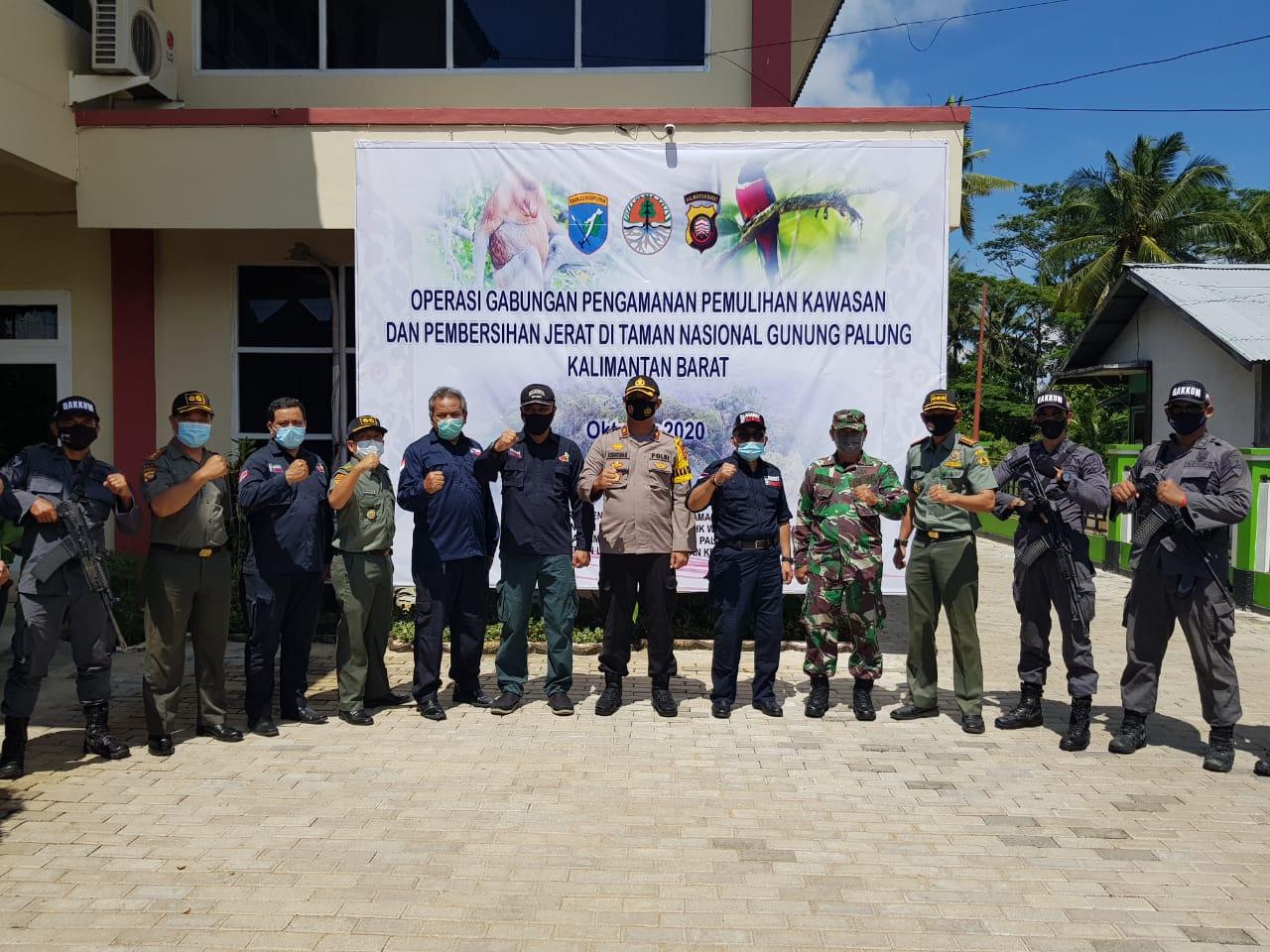 KLHK Gelar Operasi Gabungan Pengamanan dan Pemulihan Kawasan serta Bersih Jerat di TN Gunung Palung