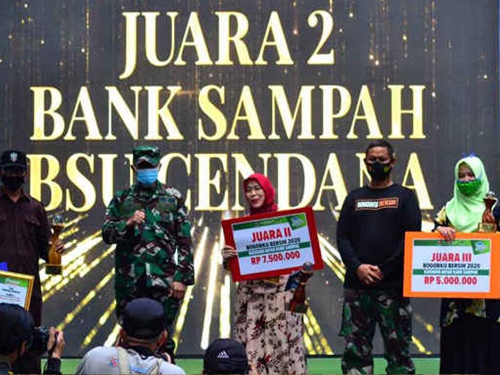BSU Cendana BLI-KLHK, Raih Juara II Penghargaaan Bogorku Bersih 2020