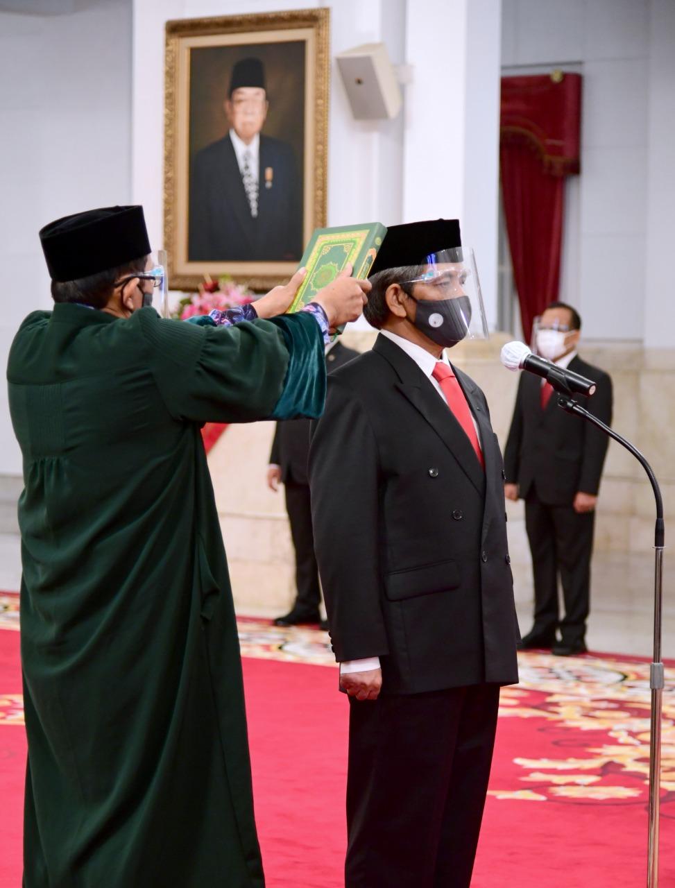 Menteri LHK Sambut Baik Pelantikan Kepala Badan Restorasi Gambut Dan Mangrove