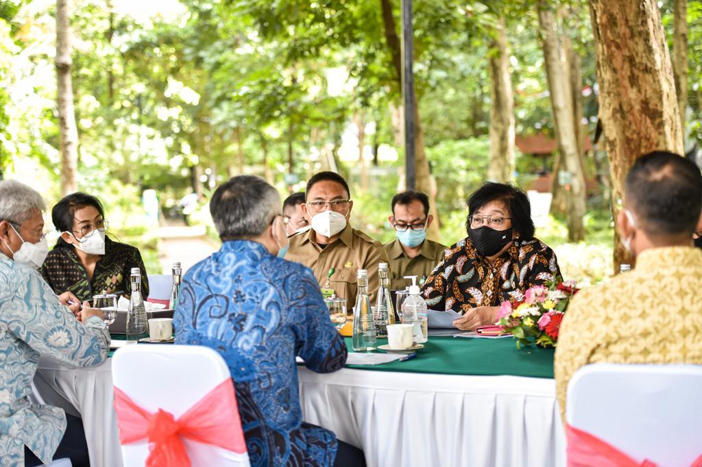 Terima Resident Representative UNDP Indonesia, Menteri LHK: 2021 Tahun Kerja Nyata Substansial Ekspansif