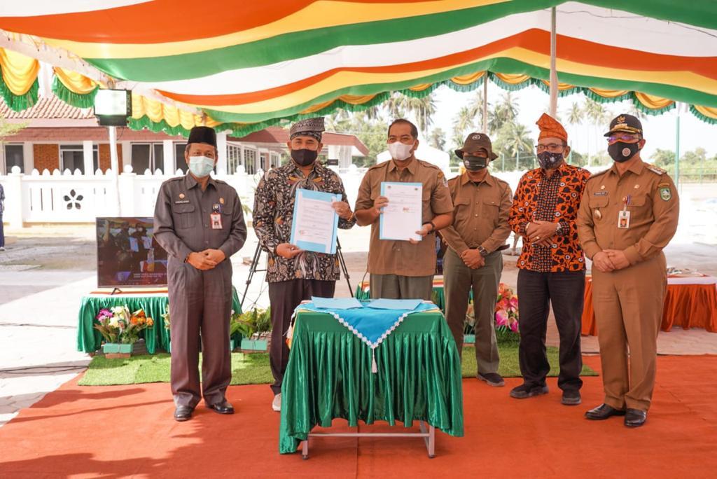 KLHK - PWI Riau Bangun Hutan Komunitas Wartawan Pertama Di Indonesia