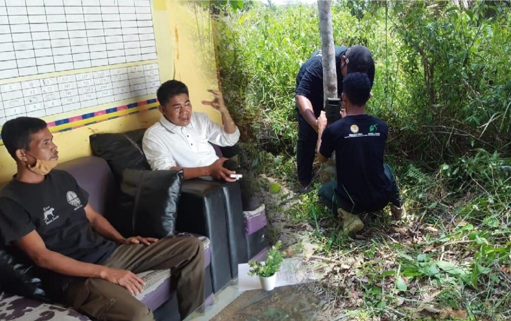 BBKSDA Riau Mitigasi Konflik Satwa Liar di Desa Tanjung Air Hitam
