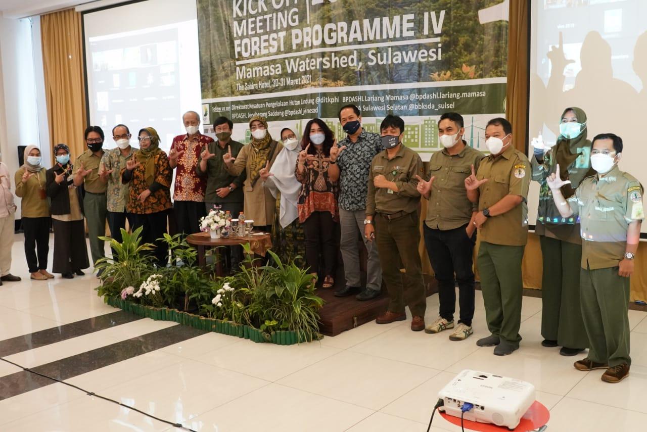 PDASRH menyelenggarakan Kick Off Meeting Forest Program IV