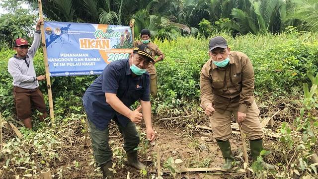 Road to HKAN 2021: Pemeliharaan Tanaman di SM. Pulau Kaget