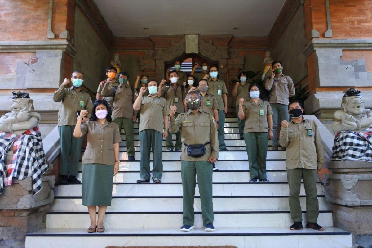 Pembinaan Inspektur Wilayah II pada Pusat Pengendalian Pembangunan Ekoregion Bali dan Nusa Tenggara