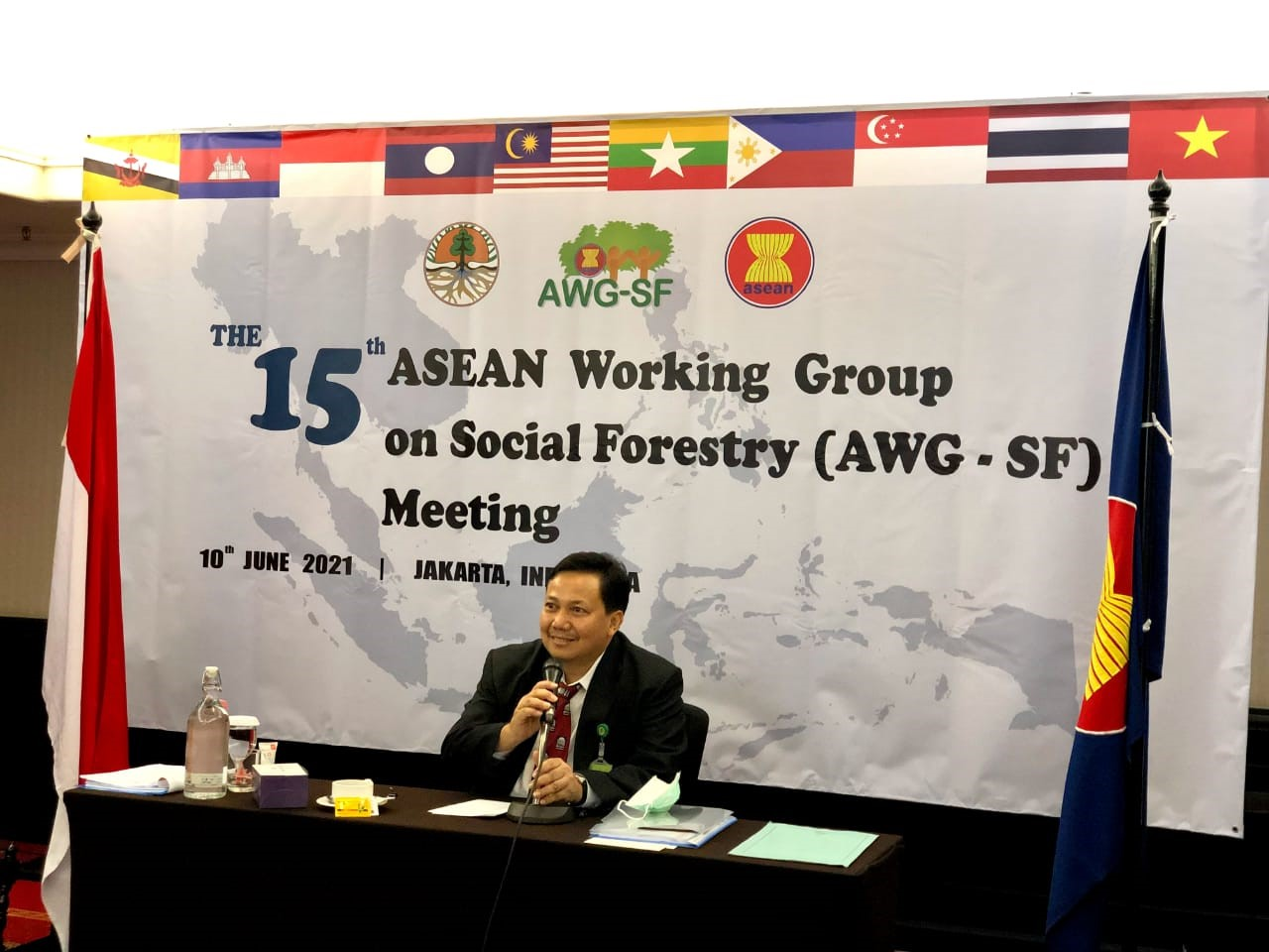 The 15th Asean Working Group on Social Forestry (AWG-SF) Meeting