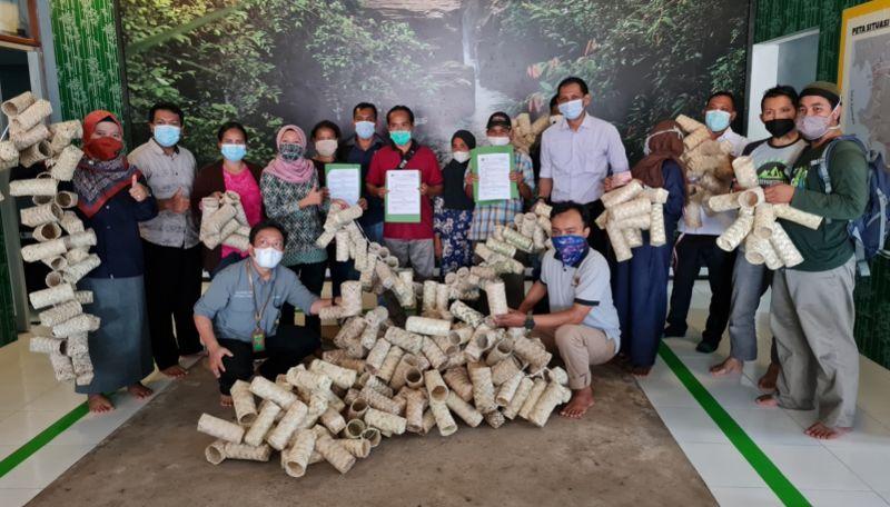 Kelompok Binaan Balai TANAGUPA Mendapat Kesepakatan Kerja Pembuatan 35.000 Ecopolybag