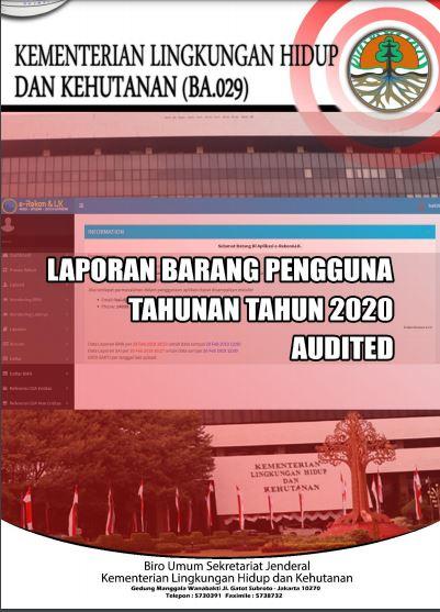 Laporan BMN KLHK Tahun 2020 (Audited)