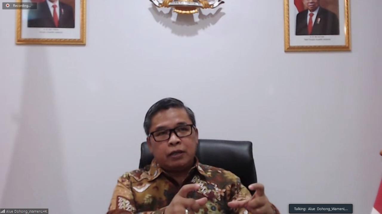 """Indonesia Optimis """"Net Sink"""" Karbon dari Sektor Kehutanan dan Penggunaan Lahan pada Tahun 2030"""