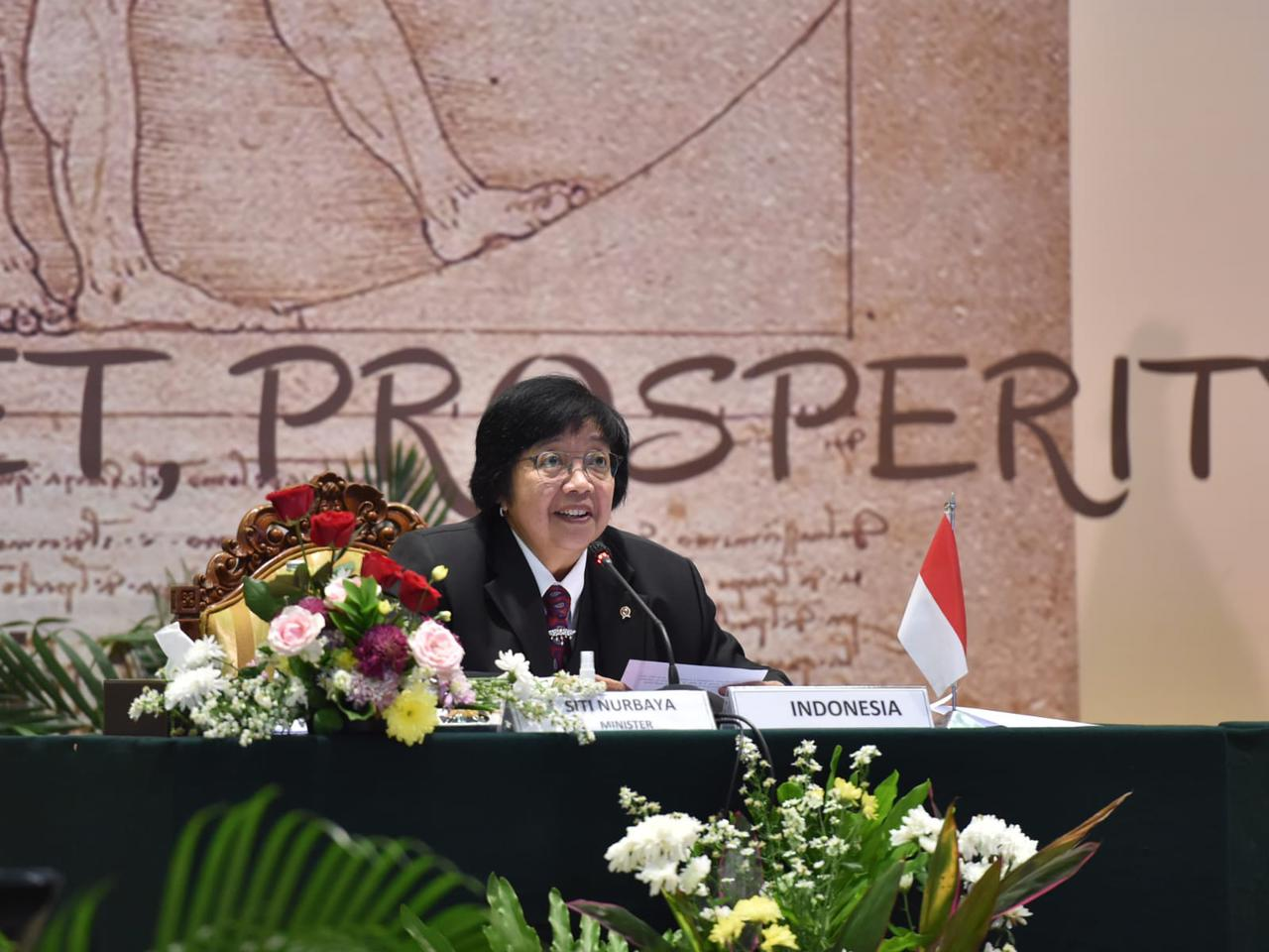 Menteri Siti Paparkan Pembangunan Kota Ramah Lingkungan untuk Kendalikan Perubahan Iklim pada Ministerial Meeting G20