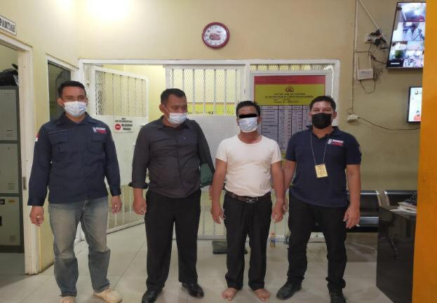 KLHK dan Polda Sumsel  Ringkus Aktor Lapangan Perambah SM Padang Sugihan di Palembang