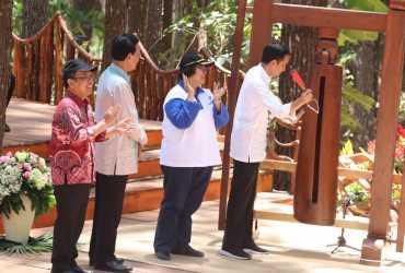 Buka Festival KPH dan PUSAKA 2018, Presiden Jokowi Tekankan Kesejahteraan Masyarakat Sekitar Hutan