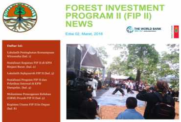 Forest Investment Program II (FIP II) NEWS