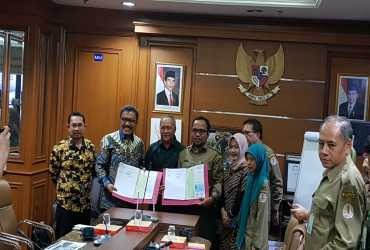 KLHK dan Pemkab Wakatobi Sepakati Perjanjian Kerjasama Pembangunan Infrastruktur Strategis