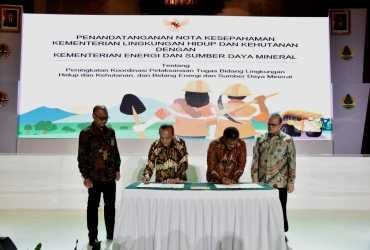 KLHK dan Kementerian ESDM Berkomitmen Percepat Upaya Reklamasi Hutan dan