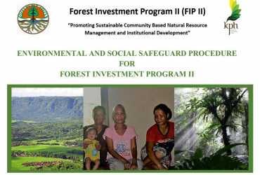 FIP2 Environmental and Social Safeguard Procedure