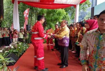 KLHK Apresiasi Anggota Manggala Agni dan Masyarakat Peduli Api Yang